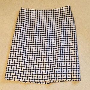 🎈Banana Republic Circle Pattern Skirt
